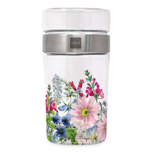 Floriculture Snack2Go Glass