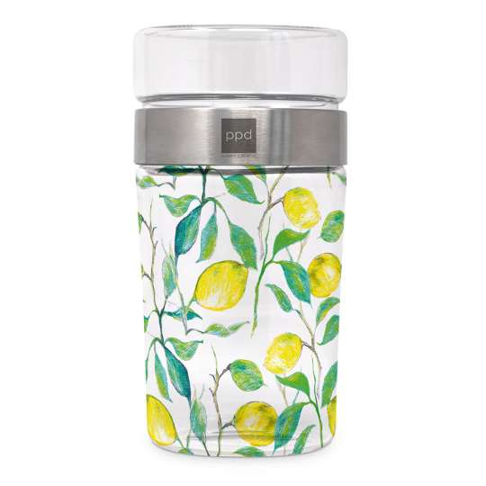 Beautiful Lemon Snack2Go Glass