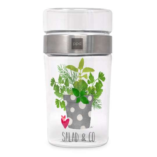 Salad & Co. Style Snack2Go Glass