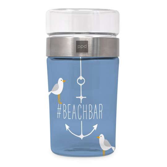 Beach Snack2Go Glass