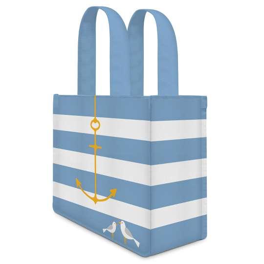 Beach Anchor Canvas Lunch Bag