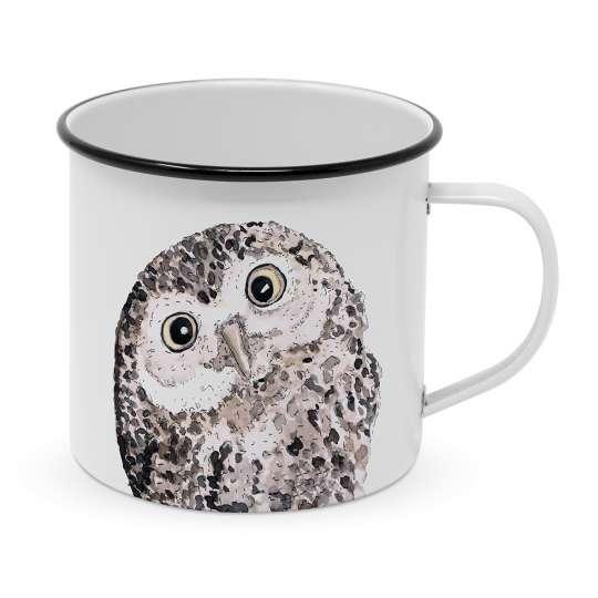 PPD Owl Happy Metal Tasse - 604125