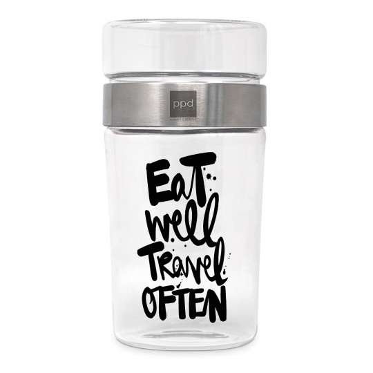 604229· Eat well Snack2Go Glass von PPD