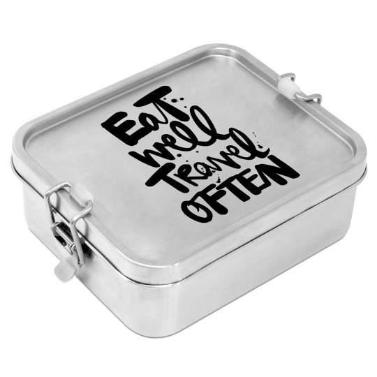 604283· Eat well Stainless steel Lunchbox von PPD