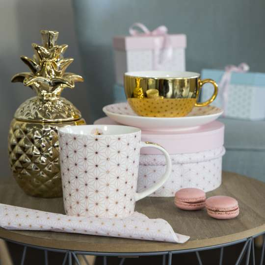 PPD Ginza Trend Mug und Reflecting Cup rosa Mood
