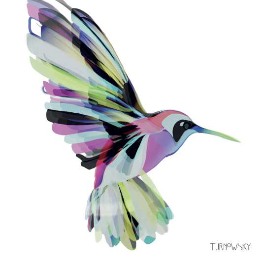 Turnowsky PPD Servietten Lunch Corfu Hummingbird 1332415_Freisteller