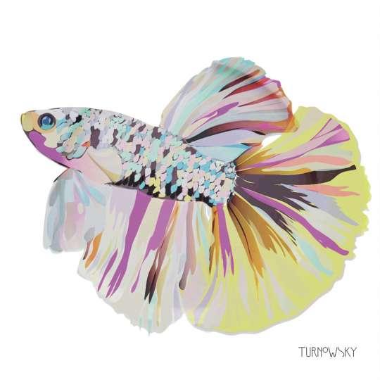 Turnowsky PPD Servietten Lunch Corfu Fish 1332417_Freisteller