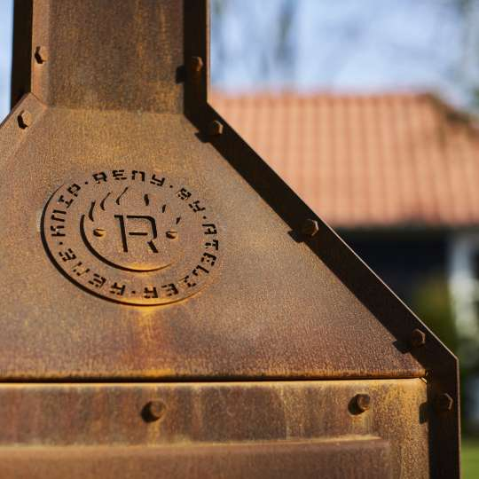 Stilvolle Gartenkamine von RB 73 - Modell Bijuga / Detail