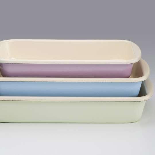 RIESS Classic Pastell Auflaufformen Set 3tlg Ambiente
