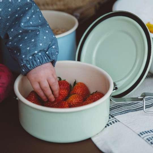 Riess Classic Pastell / Dichtungsdose / Mood Kinder, Erdbeeren