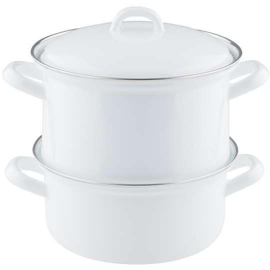RIESS CLASSIC Kartoffelkocher weiß