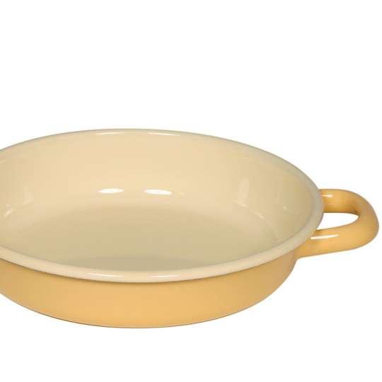 RIESS Classic Pastell Eierpfanne Goldgelb