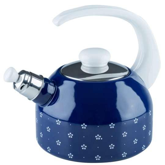 Riess COUNTRY Dirndl Wasserkessel mit Flöte blümchenblau