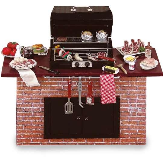 Reutter Porzellan - Mini-Garten - 1.712/2 Barbecue Grill
