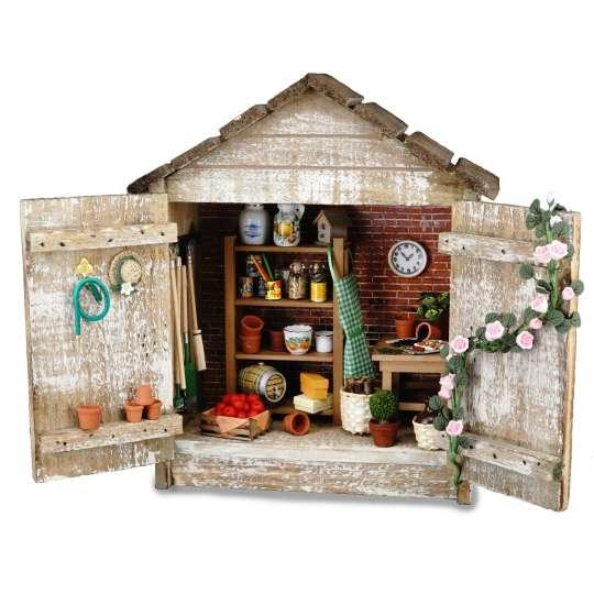 Reutter Porzellan - Mini-Garten - 1.730/1 Gartenhütte