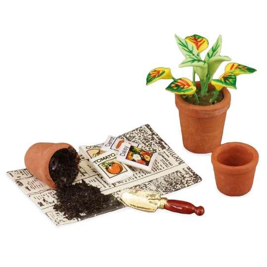 Reutter Porzellan - Mini-Garten - 1.740/6 Eintopfen