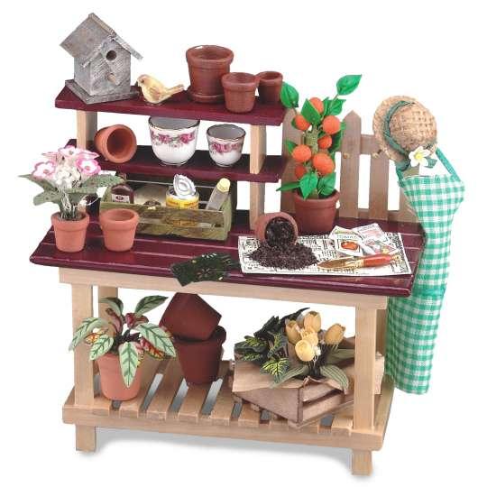 Reutter Porzellan - Mini-Garten - 1.741/1 Gartenarbeitstisch