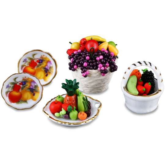 Reutter Porzellan Miniaturen - Liebe geht durch den Magen - 1.479/6 Obst Maniac
