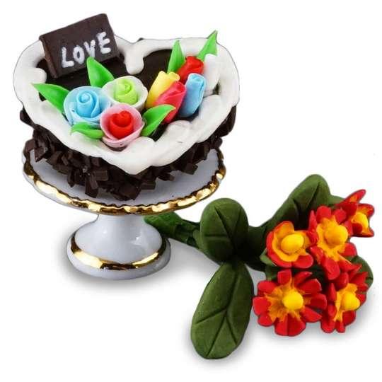 Reutter Porzellan Miniaturen - Liebe geht durch den Magen - 1.618/5 Valentinstag