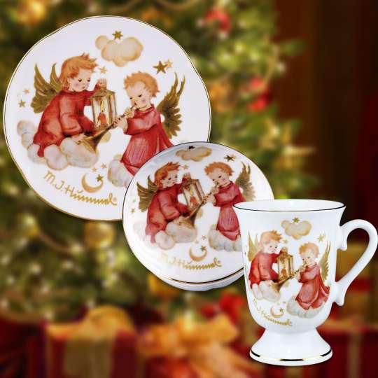 Reutter H Weihnachtsengel Tischware Stimmungsbild