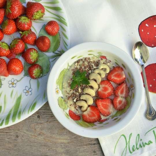 Helina Tilk by ALLA-S - Rezept Helbepuder - Powerfrühstück für Frühaufsteher