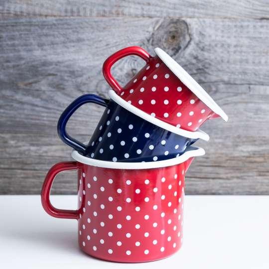 Emaille-Kaffee-/ Teebecher