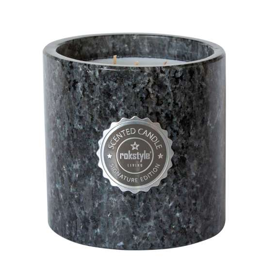 Rokstyle Living: Wohnaccessoires aus Naturstein /  MAGNUM Scented Candle / Art. Nr. 190670