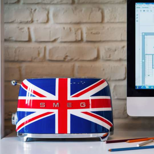 SMEG Toaster Union-Jack Design
