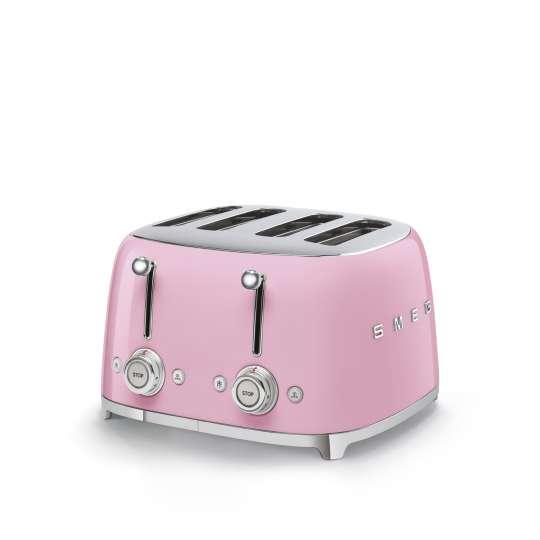 SMEG - 4-Schlitz-Toaster TSF03 - cadillac-pink