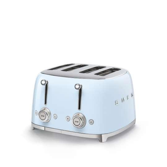 SMEG - 4-Schlitz-Toaster TSF03 - pastellblau