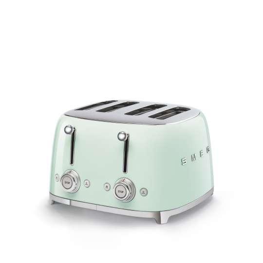 SMEG - 4-Schlitz-Toaster TSF03 - pastellgrün