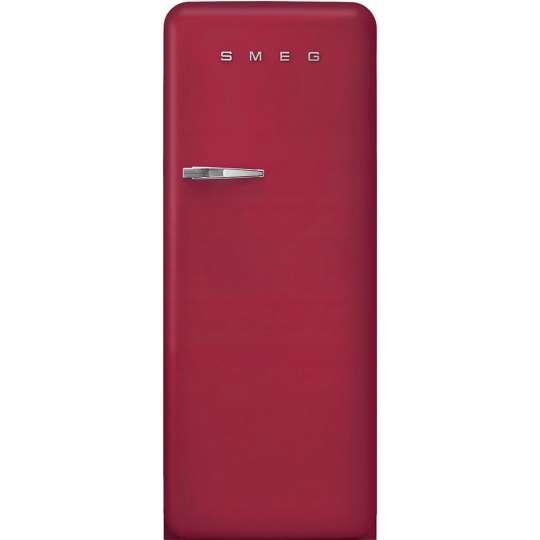 SMEG Design-Kühlschrank Rubinrot