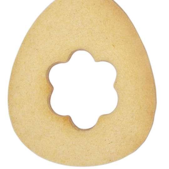 Staedter Ausstecher Ei mit Blume Art. Nr.217218 / Keks