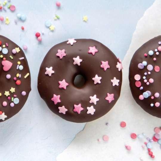 Städter: Eßbare Streudekore in Bio-Qualität Donuts