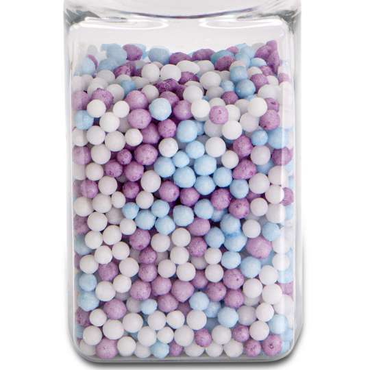 Städter: Bio-Streudekor Mini-Perlen Purple Rain