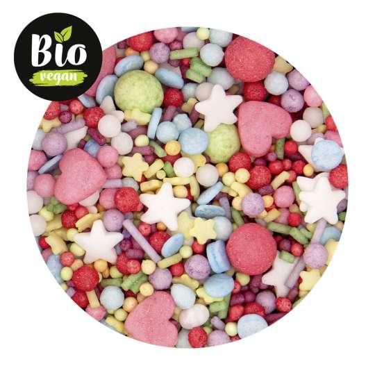 Städter: Bio-Streudekor Mix Be Happy Mehrfarbig