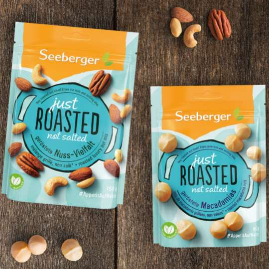 Seeberger- Just Roasted not Salted