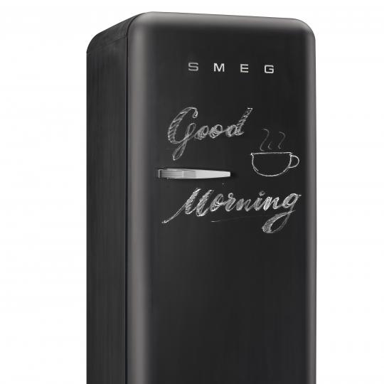 Smeg Write-on-Me-Kühlschrank schwarz