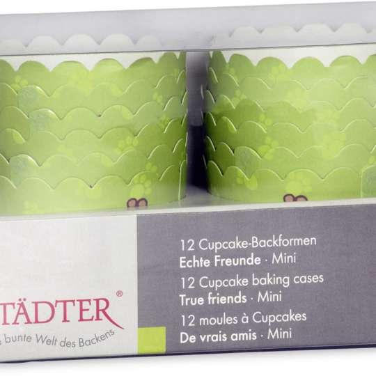 Städter Cup-Cake Backformen Verpackung Echte Freunde