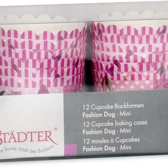 Städter Cup-Cake Backformen Verpackung Fashion Dog