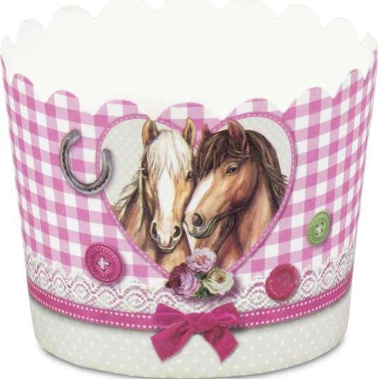 Städter Cup-Cake Backform Pferdefreunde