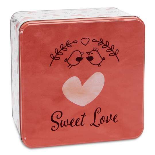 Staedter Gebäckdose Sweet Love – Quadratisch 710153