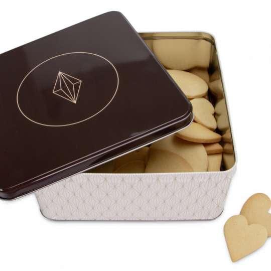 Staedter Gebäckdose Vanilla Diamonds – Quadratisch 710078