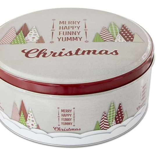 Staedter  Gebäckdose Yummy Christmas – Rund 710009