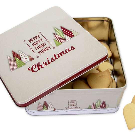 Staedter Gebäckdose Yummy Christmas Quadratisch 710030