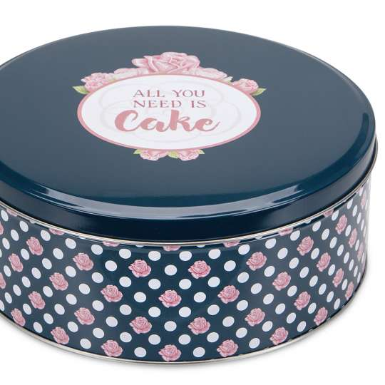 Staedter Gebäckdose All you need is Cake – Rund 710085