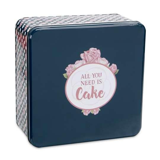Staedter Gebäckdose All you need is Cake – Quadratisch 710108