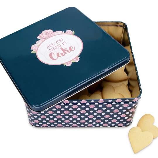 Staedter Gebäckdose All you need is Cake – Quadratisch 710115