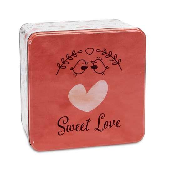 Staedter Gebäckdose Sweet Love – Quadratisch 710146