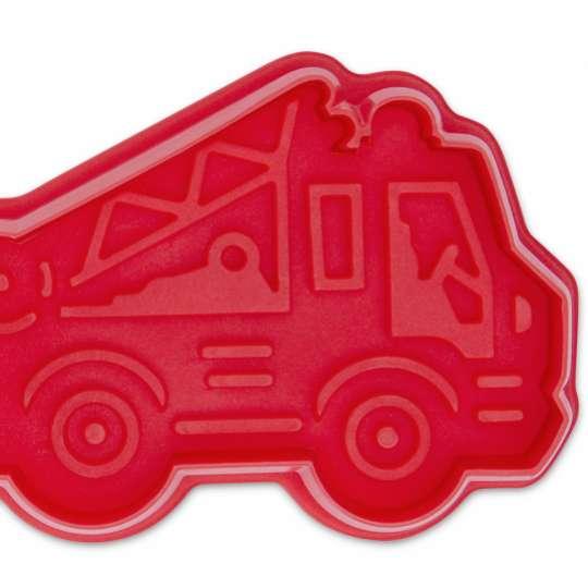 Staedter Präge-Ausstecher Feuerwehrauto 171879